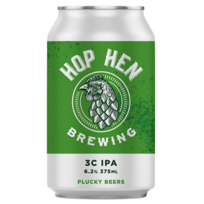 Hop Hen-3C IPA 375ml x 4-Pubble Alcohol Delivery