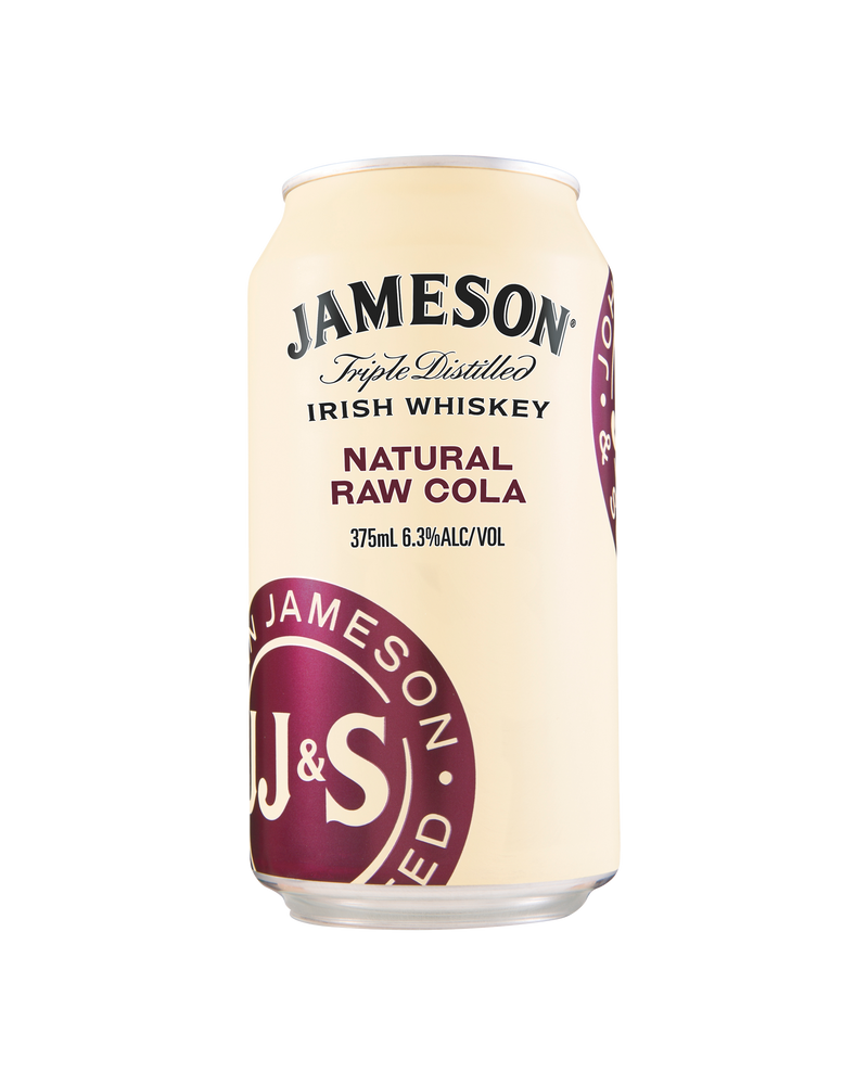 Jameson Natural Raw & Cola 375ml x 4