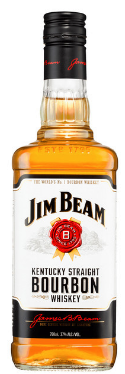 Barrel House Distribution-Jim Beam White Label Bourbon 700mL-Pubble Alcohol Delivery