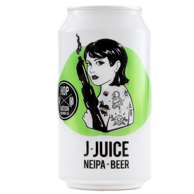 Hop Nation Brewing Co-J Juice NEIPA 375ml x 4 cans-Pubble Alcohol Delivery