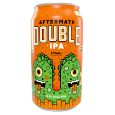 Kaiju Beer-Aftermath DIPA 375ml x 4-Pubble Alcohol Delivery