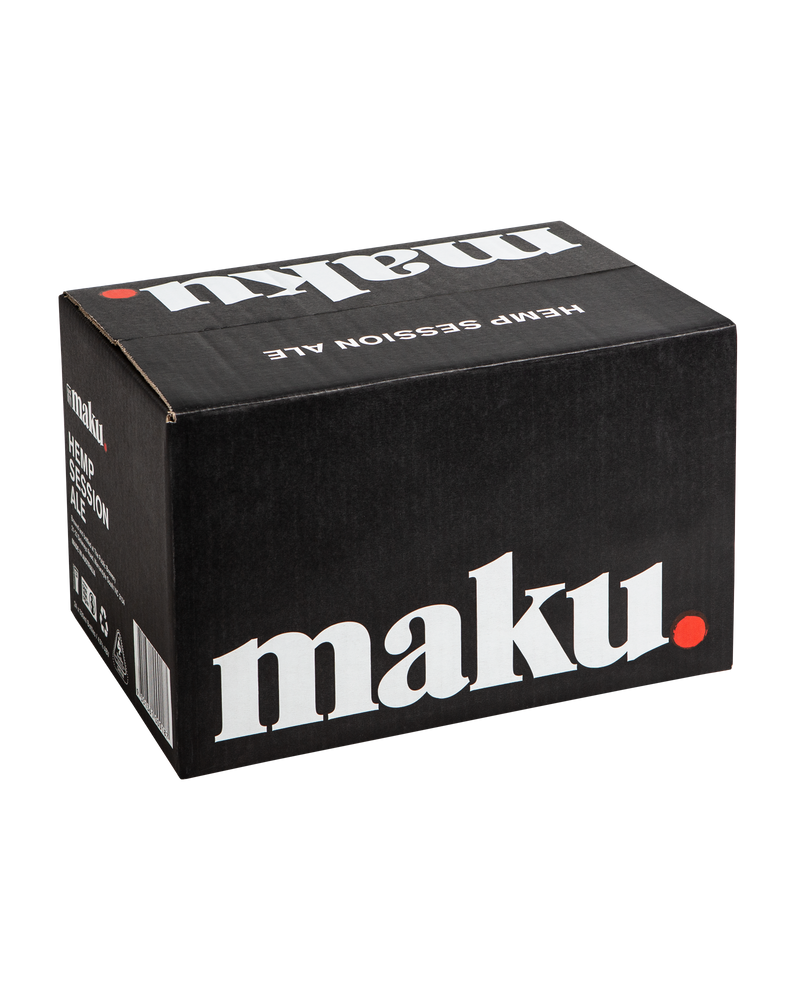 Maku.-Hemp Session Ale Bottles 330ml x 4-Pubble Alcohol Delivery