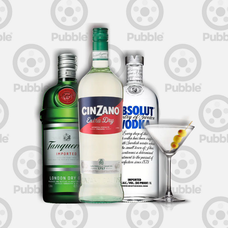 Pubble Alcohol Delivery-Martini Maker Pack-Pubble Alcohol Delivery