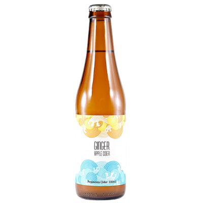 Mr Little Cider-Peninsula Apple Ginger Cider 330 ml x 4-Pubble Alcohol Delivery