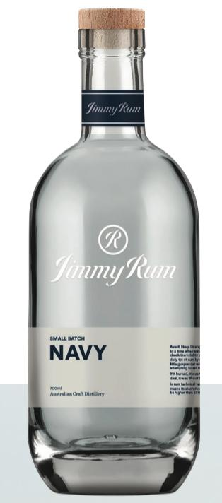 JimmyRum-Navy 700ml-Pubble Alcohol Delivery