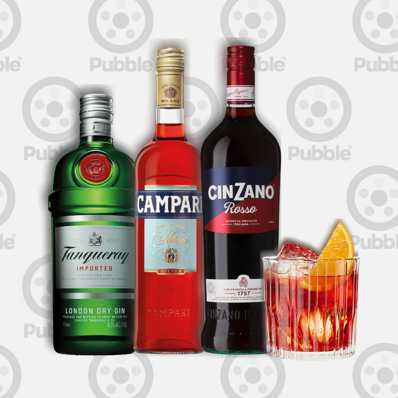 Pubble Alcohol Delivery-Neat Negroni Pack-Pubble Alcohol Delivery