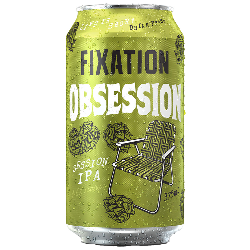 Fixation Brewing Co-Obsession 375ml x 4-Pubble Alcohol Delivery