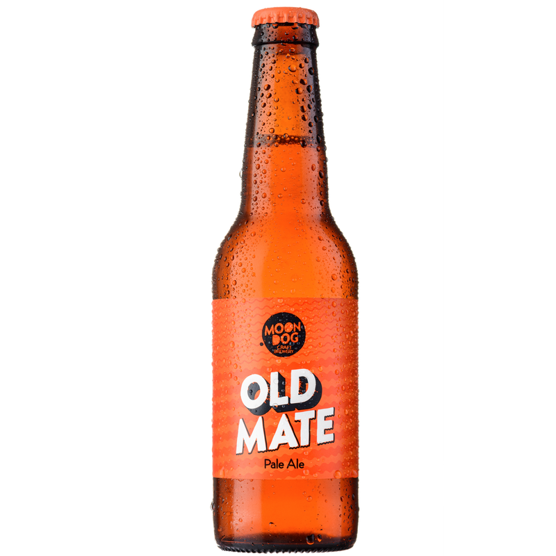 Moon Dog-Old Mate Pale Ale 330ml x 4-Pubble Alcohol Delivery