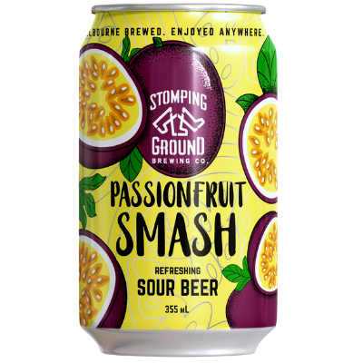 Stomping Ground-Passionfruit Smash 355ml x 4-Pubble Alcohol Delivery