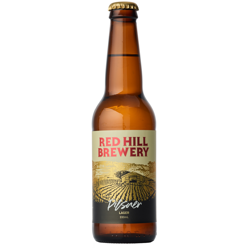 Red Hill Brewery-Pilsner 355ml x 4-Pubble Alcohol Delivery