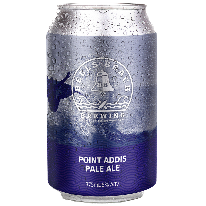 Bells Beach Brewing-Point Addis Pale Ale 375ml x 4-Pubble Alcohol Delivery