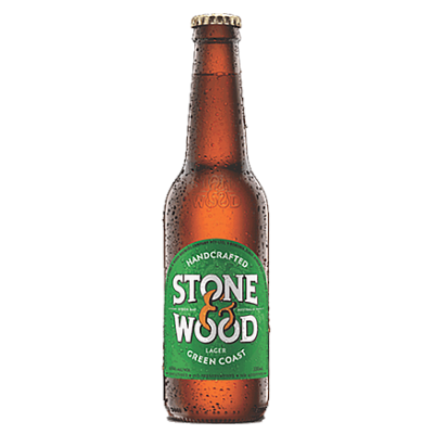 Stone & Wood-Green Coast Lager 330ml x 4-Pubble Alcohol Delivery