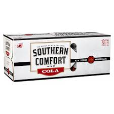 Southern Comfort & Cola Cans 375ml 10 Pack
