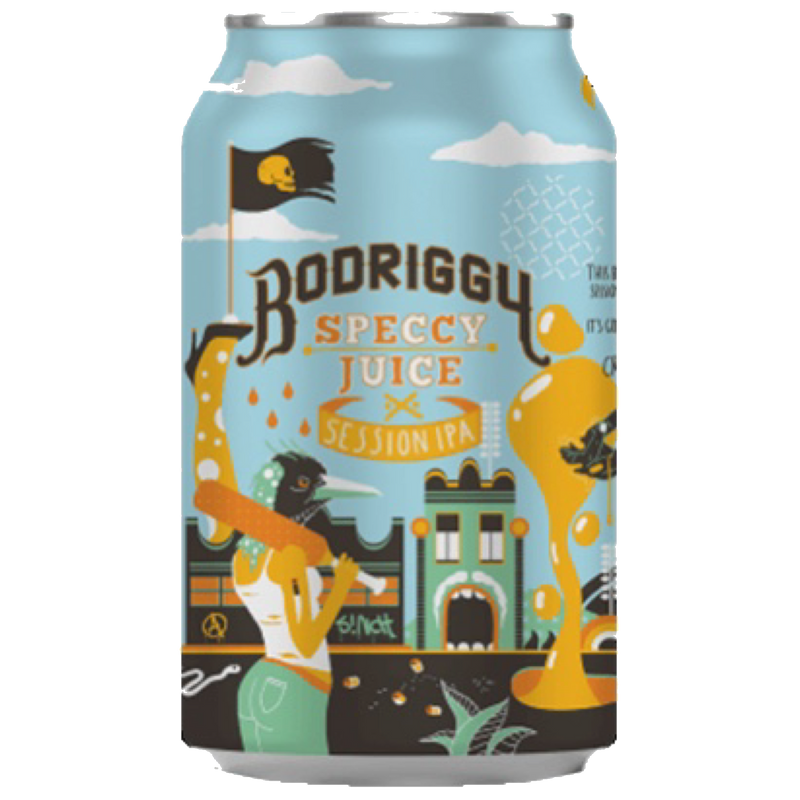 Bodriggy Brewing Co.-Speccy Juice SIPA 355ml x 4-Pubble Alcohol Delivery