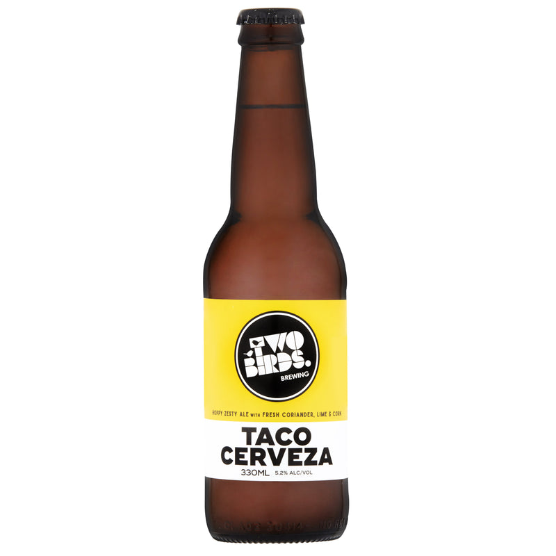 Two Birds Brewing-Taco Cerveza 330ml x 4-Pubble Alcohol Delivery
