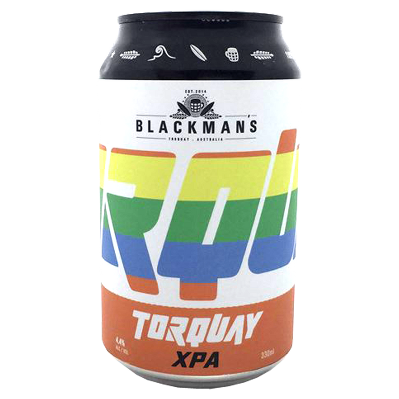Blackman's Brewery-Torquay XPA 330ml x 4-Pubble Alcohol Delivery