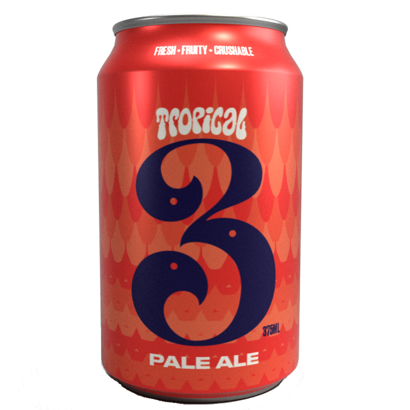 3 Ravens-Tropical Pale Ale 375ml x 4-Pubble Alcohol Delivery
