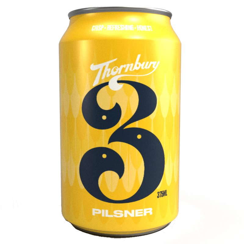 3 Ravens-Thornbury Pilsner 375ml x 4-Pubble Alcohol Delivery