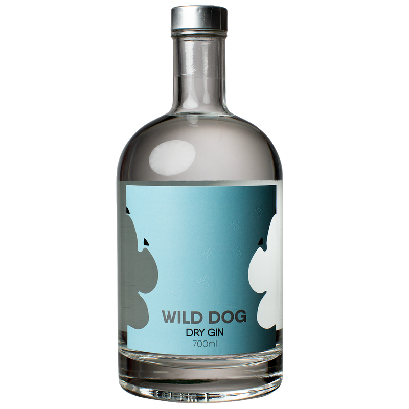 The Spirits Trading Co-Wild Dog Dry Gin 700ml-Pubble Alcohol Delivery