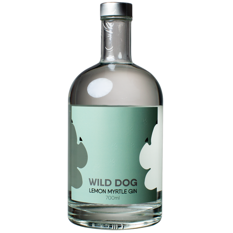 The Spirits Trading Co-Wild Dog Lemon Myrtle Gin 700ml-Pubble Alcohol Delivery