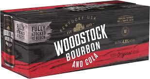 Woodstock & Cola Cans 375ml 10 Pack