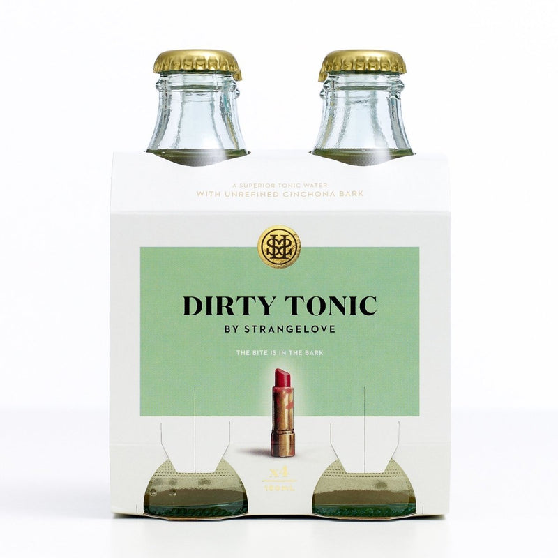 StrangeLove-Dirty Tonic 180ml x 4-Pubble Alcohol Delivery