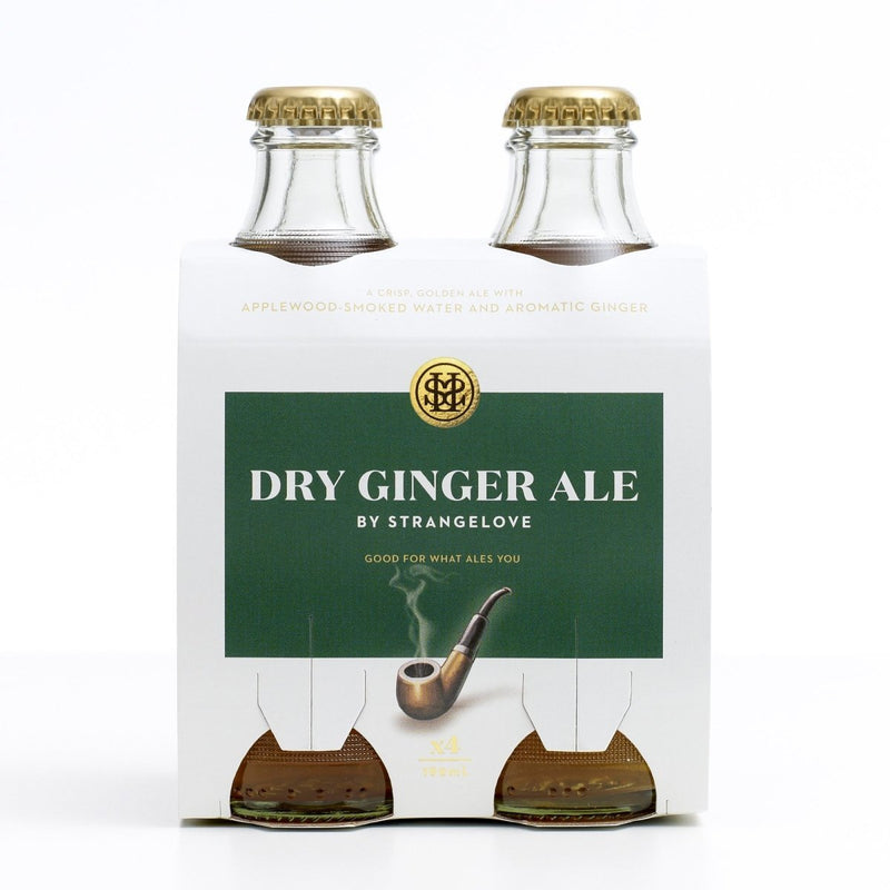 StrangeLove-Dry Ginger Ale 180ml x 4-Pubble Alcohol Delivery