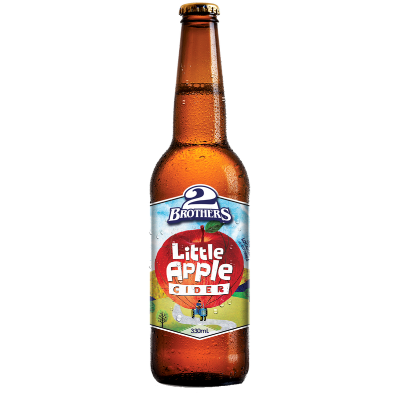 2 Brothers-Little Apple 330ml x 4-Pubble Alcohol Delivery