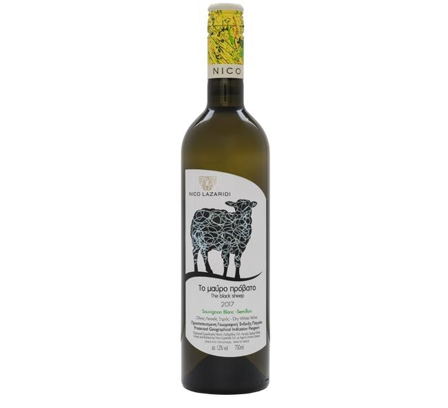 Nico Lazaridi-Nico Lazaridi The Black Sheep Sauvignon Blanc – Semillon-Pubble Alcohol Delivery