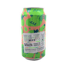 Kaiju Beer-Main Squeeze - Passion Guava 375ml x 4-Pubble Alcohol Delivery