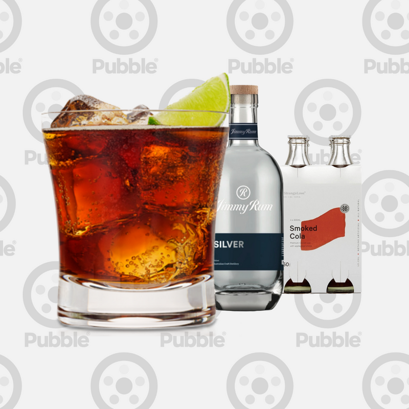 Pubble Alcohol Delivery-Smoked Rum & Cola Pack-Pubble Alcohol Delivery