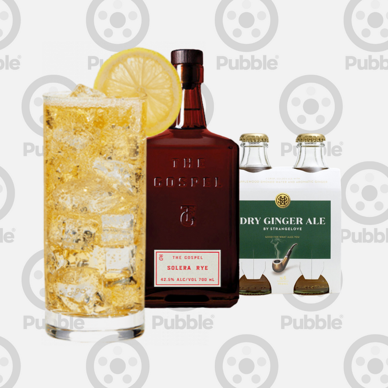 Pubble Alcohol Delivery-Rye & Ginger Pack-Pubble Alcohol Delivery