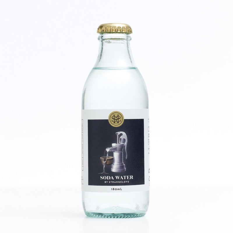 StrangeLove-Soda Water 180ml x 4-Pubble Alcohol Delivery