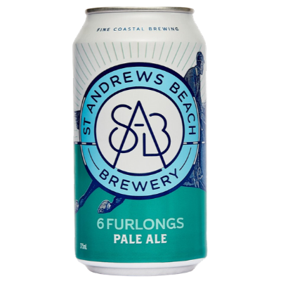 St Andrews Brewery-6 Furlongs 375ml x 4-Pubble Alcohol Delivery