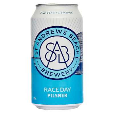 St Andrews Brewery-Race Day Pilsner 375ml x 4-Pubble Alcohol Delivery