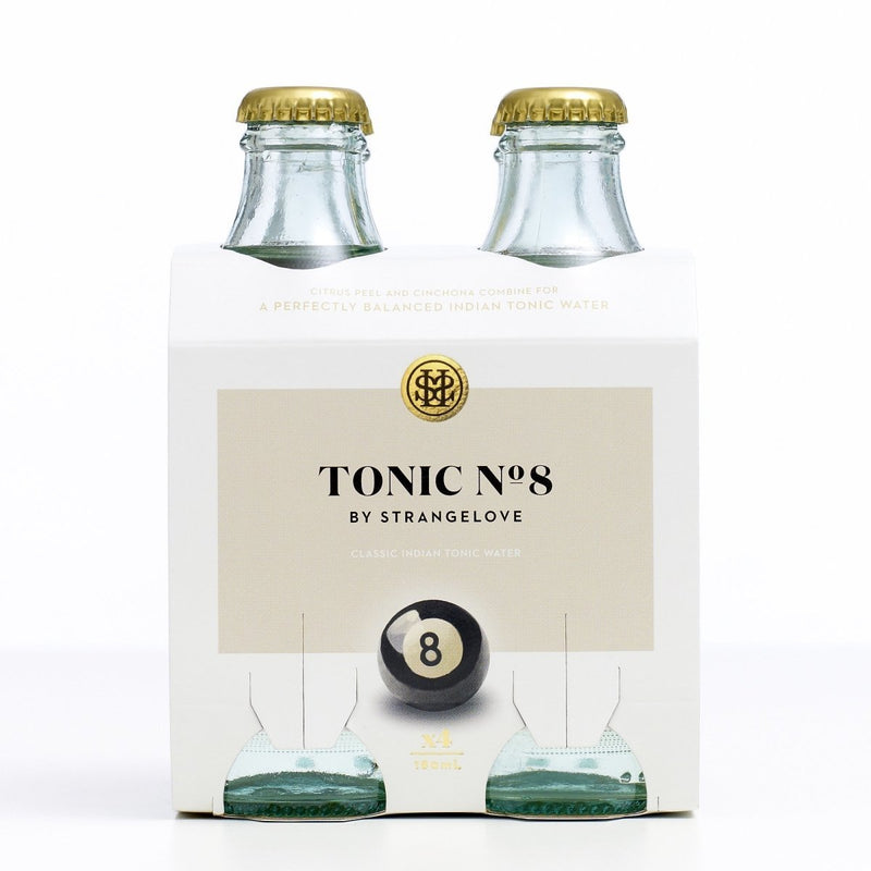 StrangeLove-Tonic No 8. 180ml x 4-Pubble Alcohol Delivery