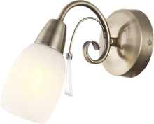 Load image into Gallery viewer, ASHA - CLASSIC BRASS WALL LIGHT