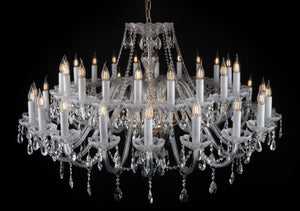 Kaiserin 203 Crystal Chandelier - Wide Design