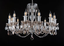Load image into Gallery viewer, KAISERIN 107 XII CRYSTAL CHANDELIER