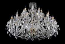 Load image into Gallery viewer, KAISERIN 107 CRYSTAL CHANDELIER - WIDE DESIGN