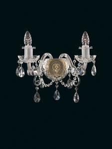 KAISERIN 104 II CRYSTAL WALL LIGHT