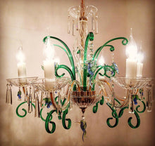 Load image into Gallery viewer, NEW CLASSIC 226/417 CRYSTAL BIRD CHANDELIER