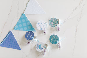 Baby Boy Shower Roller Favors