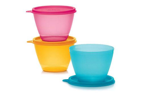 3 Bols réfrigérateur Boys & Girls Club - TUPPERWARE FRANCE