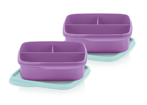 2 Lunch box 550 ml à 5 € au lieu de 19,80 € dès 49 € d'achats - TUPPERWARE FRANCE