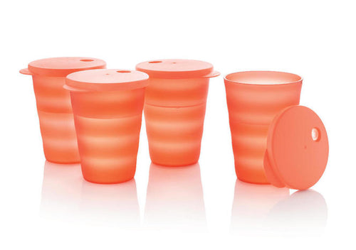 4 Verres Flash 330 ml - TUPPERWARE FRANCE