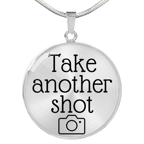 TAKE ANOTHER SHOT NECKLACE - picgraph