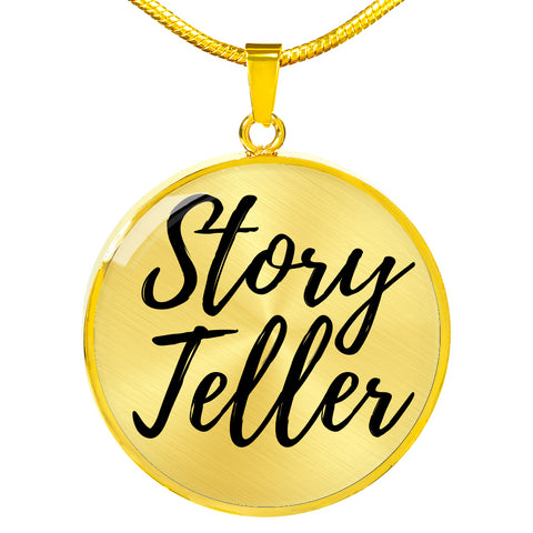 STORY TELLER NECKLACE - picgraph