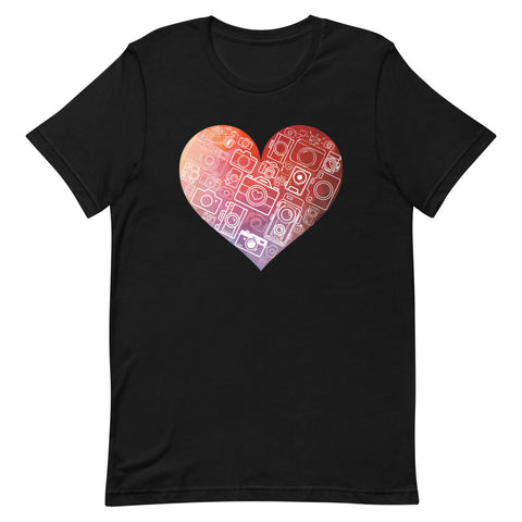 Camera-Heart T-Shirt - picgraph
