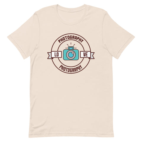 Love Photography T-Shirt - picgraph
